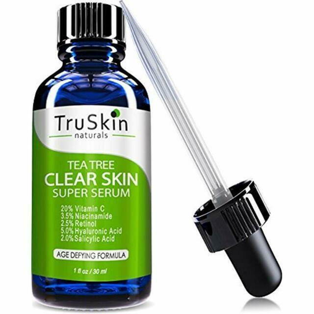 Truskin Naturals Tea Tree Clear Skin Serum 1oz For Sale Online Ebay