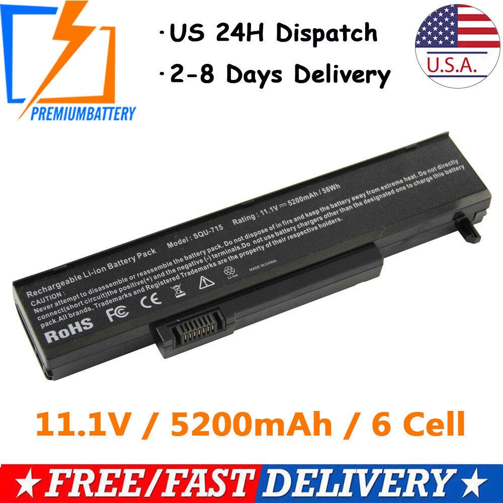 Laptop Battery for Gateway M-150 M-1634U M-6205M M-6750 M-68