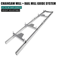 Pro 9ft Chainsaw Mill Rail Guide System Log Chainsaw Milling Guide Crossbar Kit