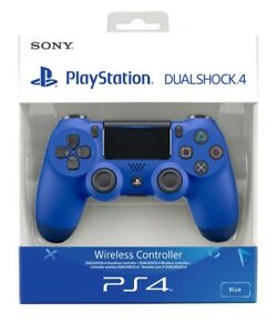 PS4-DualShock-4-Controleur-vague-bleu-V2-Flambant-Neuf-Scelle-Officiel