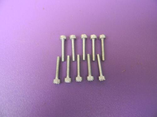 ---- SET OF 10 M4X25 TORX SCREWS FOR STIHL CHAINSAW   # 9022 313 0740 BOX194