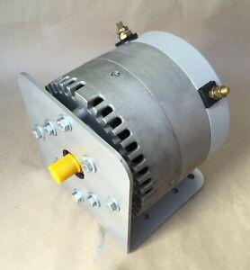 Manta II 10 hp DC electric motor 12 24 48 Etek Permanent