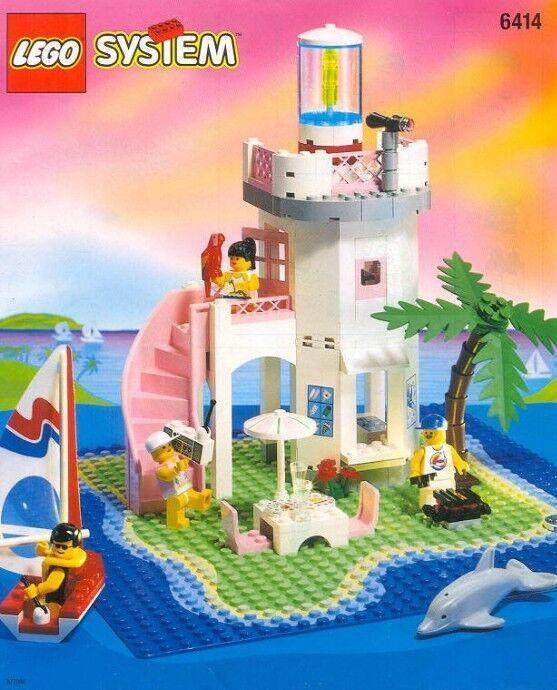 nuovo  Lego Town Paradisa 6414 Dolphin Point nuovo Sealed 1995' Girls  prezzi bassi di tutti i giorni