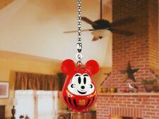 Japanese Talisman Disney Mickey Mouse Ceiling Fan Pull Light Lamp Chain K1096 K