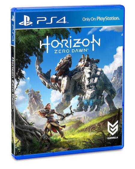 Horizon Zero Dawn Game Ps4 HK/Chinese Sub