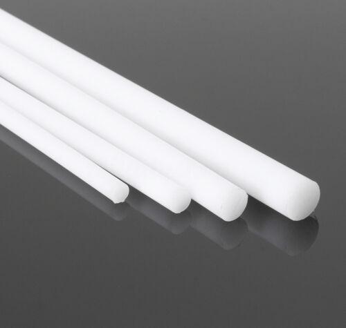 HDPE Rod Natural//White 30mm Diameter x 245mm Long High Density Polyethylene Bar