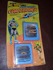 Vintage Superfriends Batman Superman Code Flasher Gordy DC Comic Rare MOC 1978