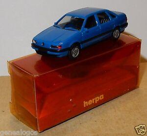 MICRO-HERPA-HO-1-87-VW-VOLKSWAGEN-PASSAT-GL-AZUL-MEDIO-EN-BOX