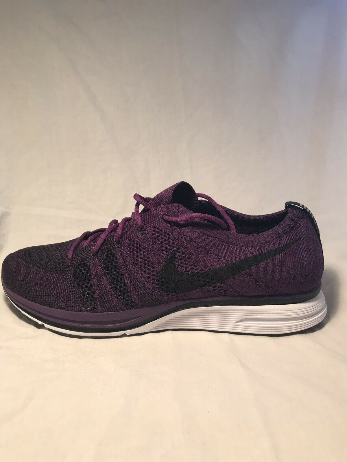 Mens Nike Flyknit Trainer AH8396-500 Night Purple Brand New Size 10.5
