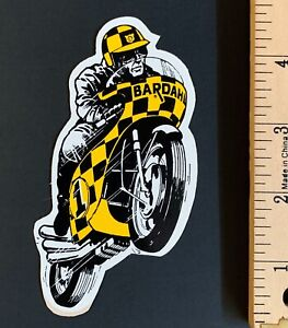 Vintage 1968 Bardahl Motorcycle Mx Racing Decal Sticker Nos Parts Accessories Ebay