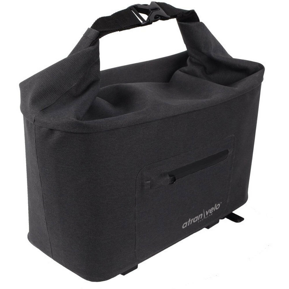Atranvelo bolsa de sistema atranvelo travel 33x20x16cm incl. adaptador avs negro