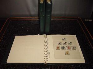 Bund 1968 - 1995 ** + gest. Sammlung in 3 Lindner Vordruckalben