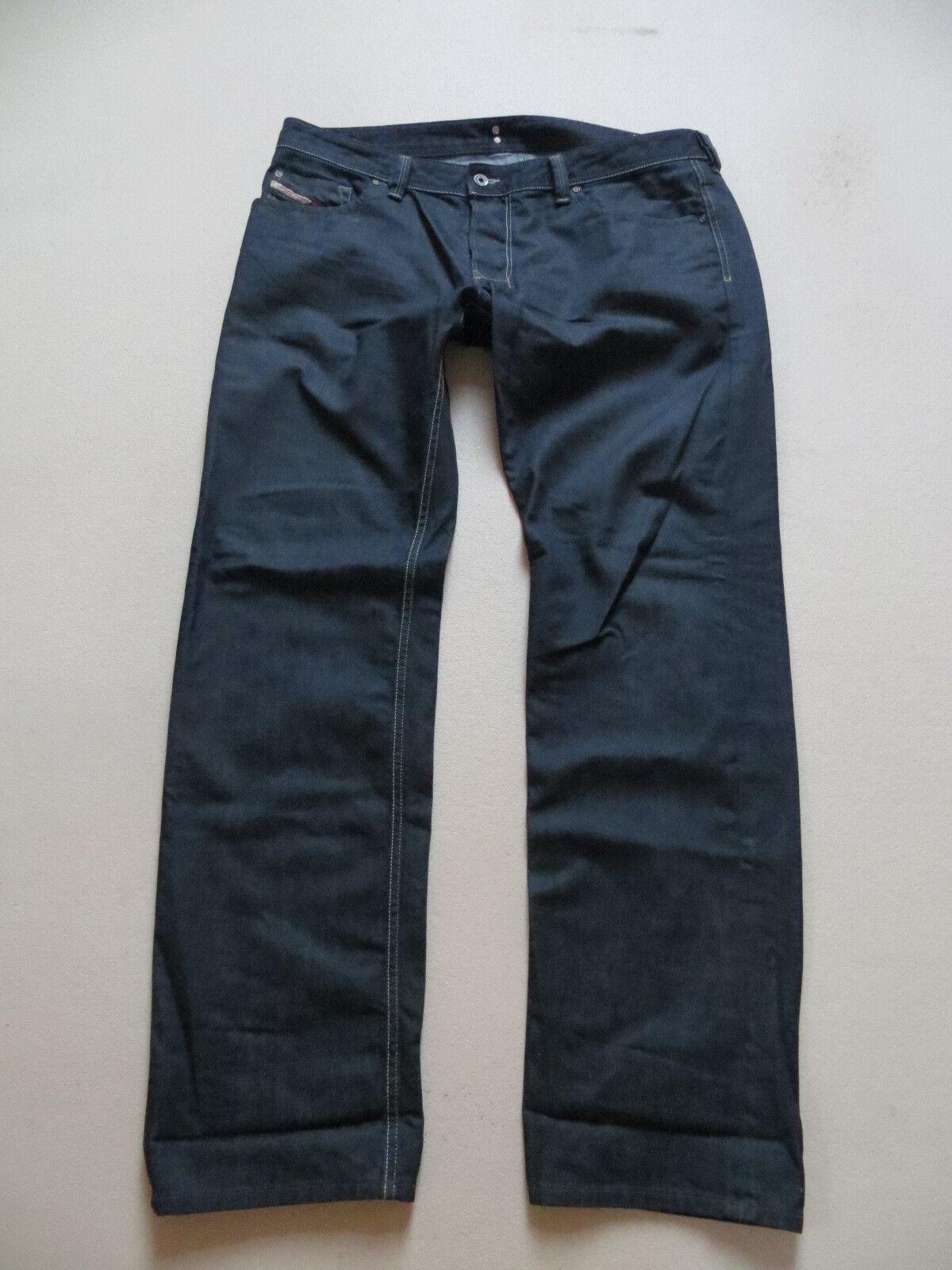 DIESEL Jeans Hose wash 0088Z LARKEE W 38  L 34 dark Indigo Denim KULT Modell