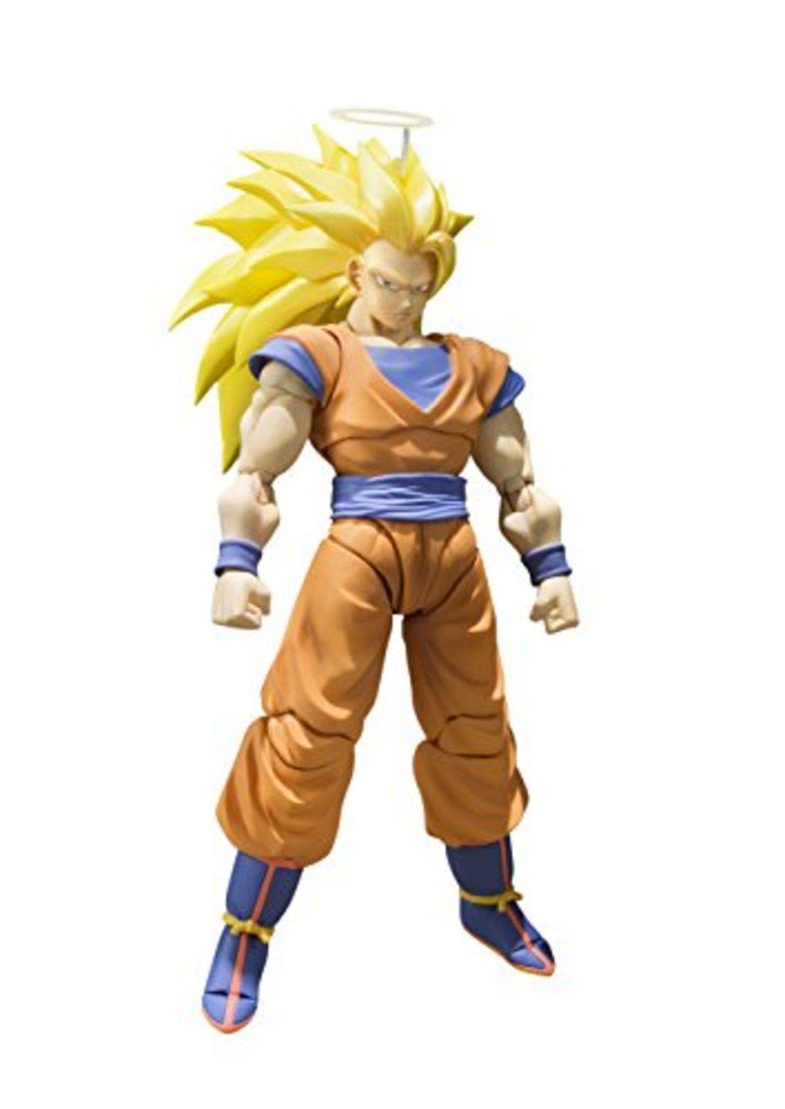 Dragon Ball S.H.Figuarts Super Saiyan 3 Son Goku ACTION FIGURE gokou F/S wTrack