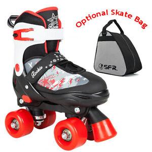 8b3ff277707 Rookie Ace Adjustable Children's Boys Quad Roller Skates - Optional ...