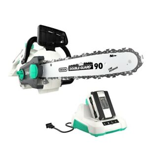 LiTHELi-40V-Cordless-Brushless-14-034-Chainsaw-w-2-5AH-Battery-amp-Charger