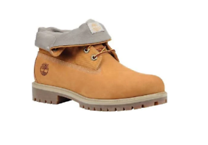 03d6cd57823 Details about TIMBERLAND TB0A1QZA231 ROLL TOP Mn´s (M) Wheat Nubuck Leather  Casual Boots