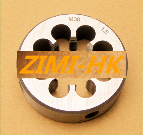 superior quality (1pcs) 30mm x 1.5 Metric Right hand Die M30 x 1.5mm Pitch