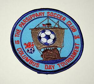Details about 2 Soccer Team Club Parsippany Columbus Tournament NJ 1994  Patch New NOS 1997