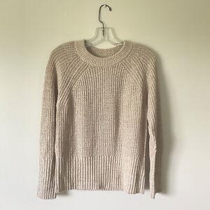 XS-NWT-UNIVERSAL-THREAD-Womans-Oat-Cream-Sweater