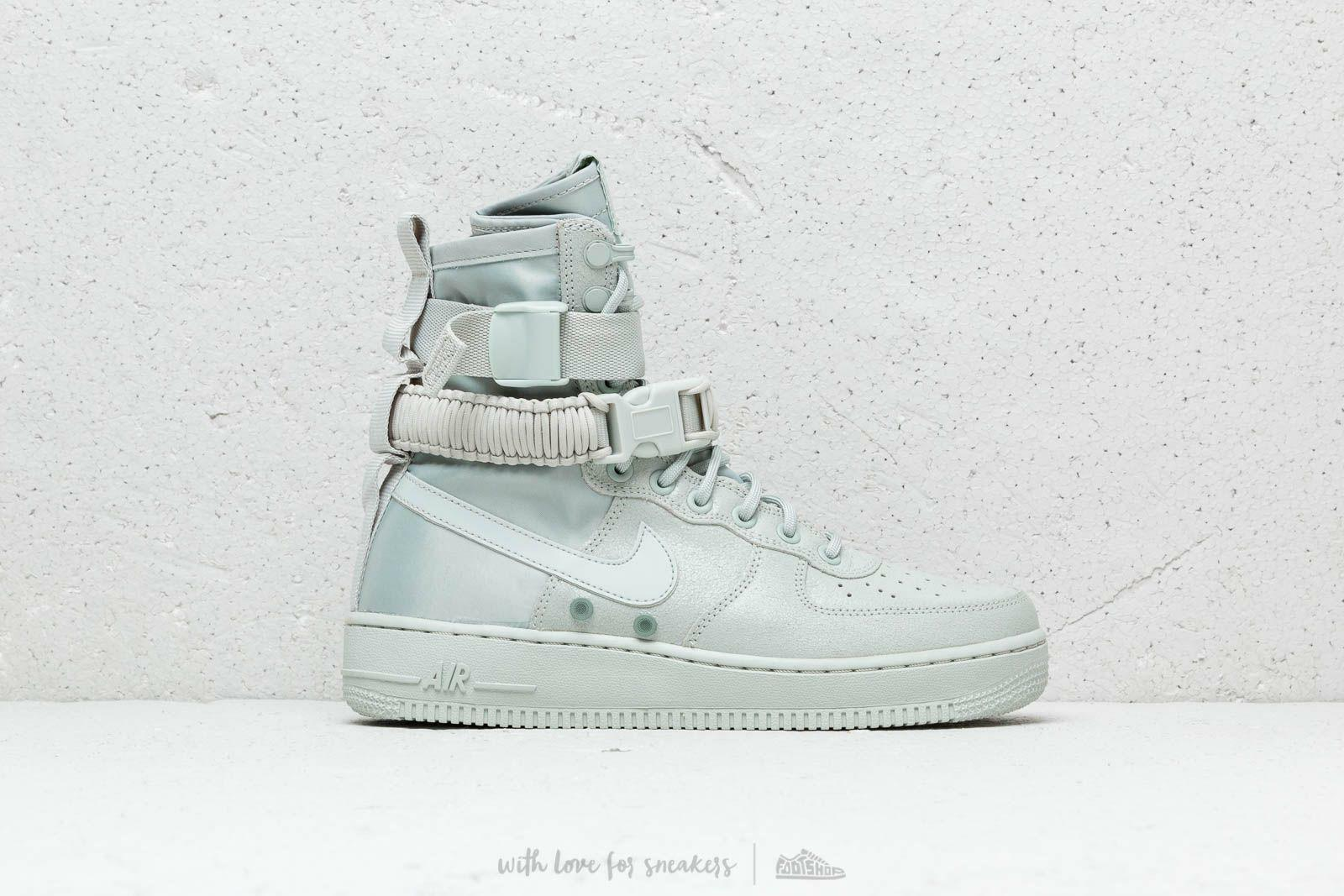 Women's Nike SF AF1 High  Light Silver  MSRP  180 100% Authentic