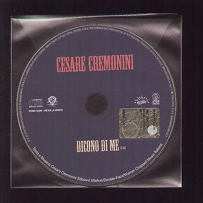Cd Singolo Promozionale Cesare Cremonini Dicono Di Me 2008 Promo
