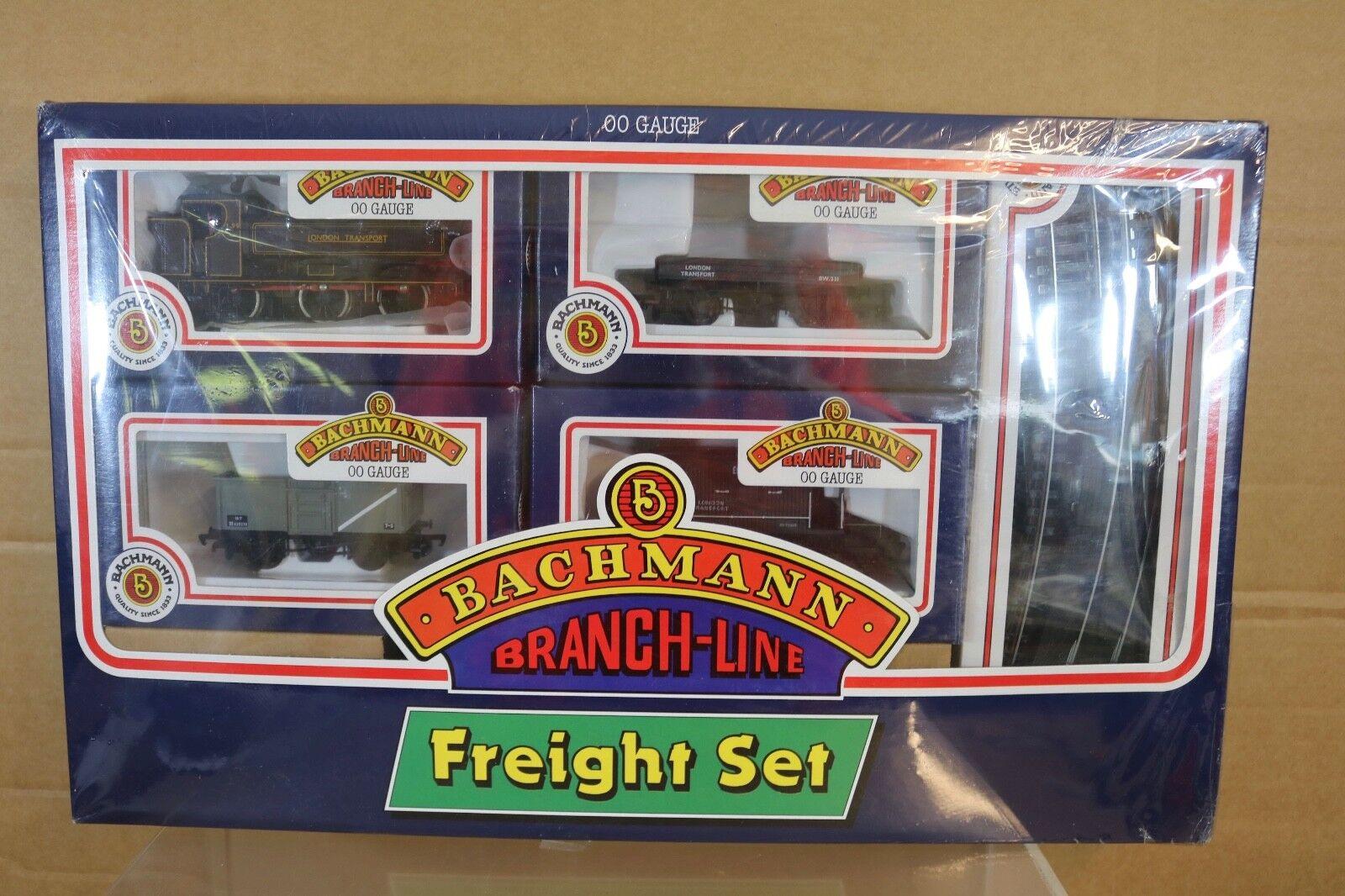 BACHMANN 30-201 LONDON TRANSPORT FREIGHT SET & PANNIER TANK LOCO L99 SEALED np