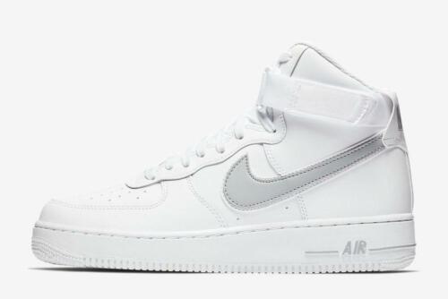 Sneaker Mens Nike Air Force 1 High '07 LV8 White Wolf Grey