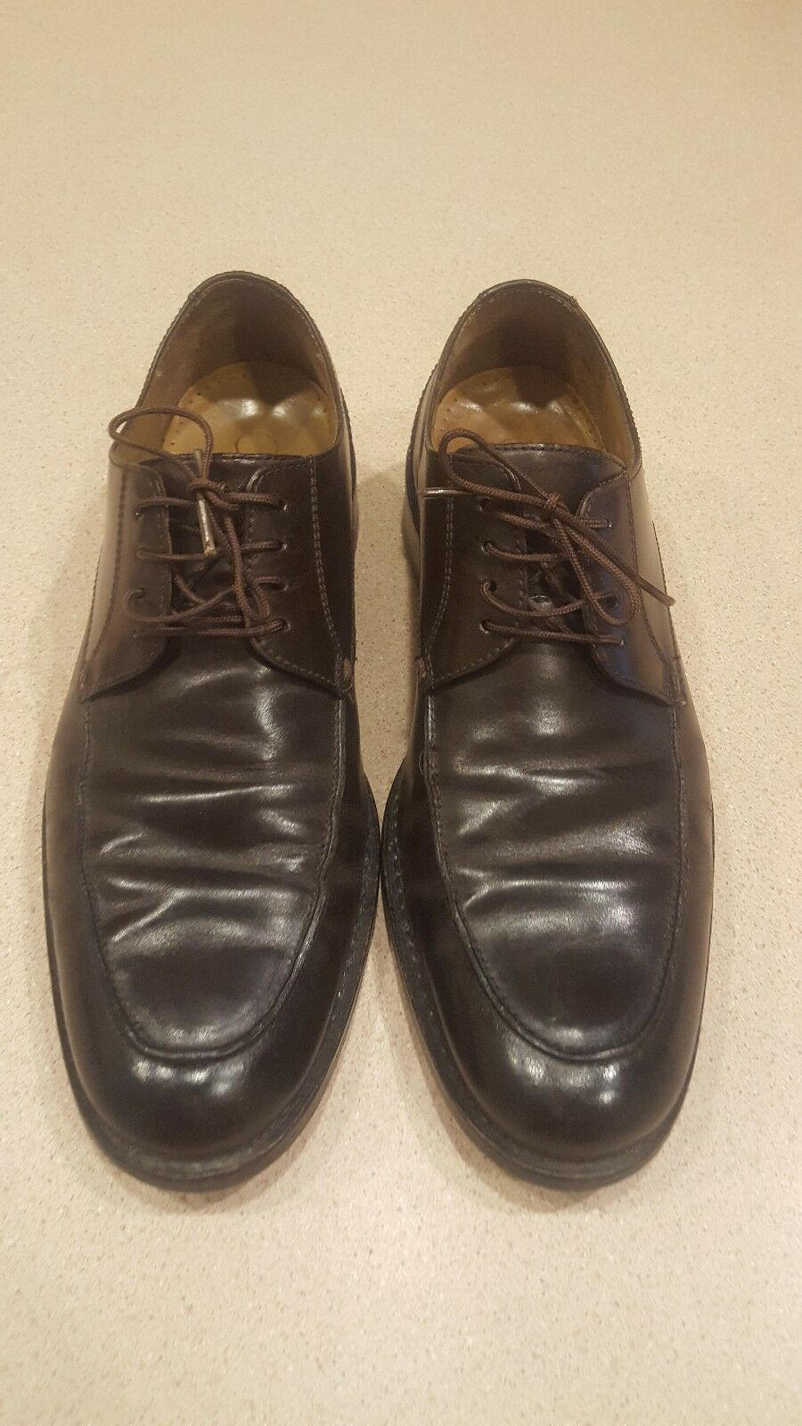 Cole Haan Brown Leather Oxfords Men's Size 9M Gore Tex  C07776