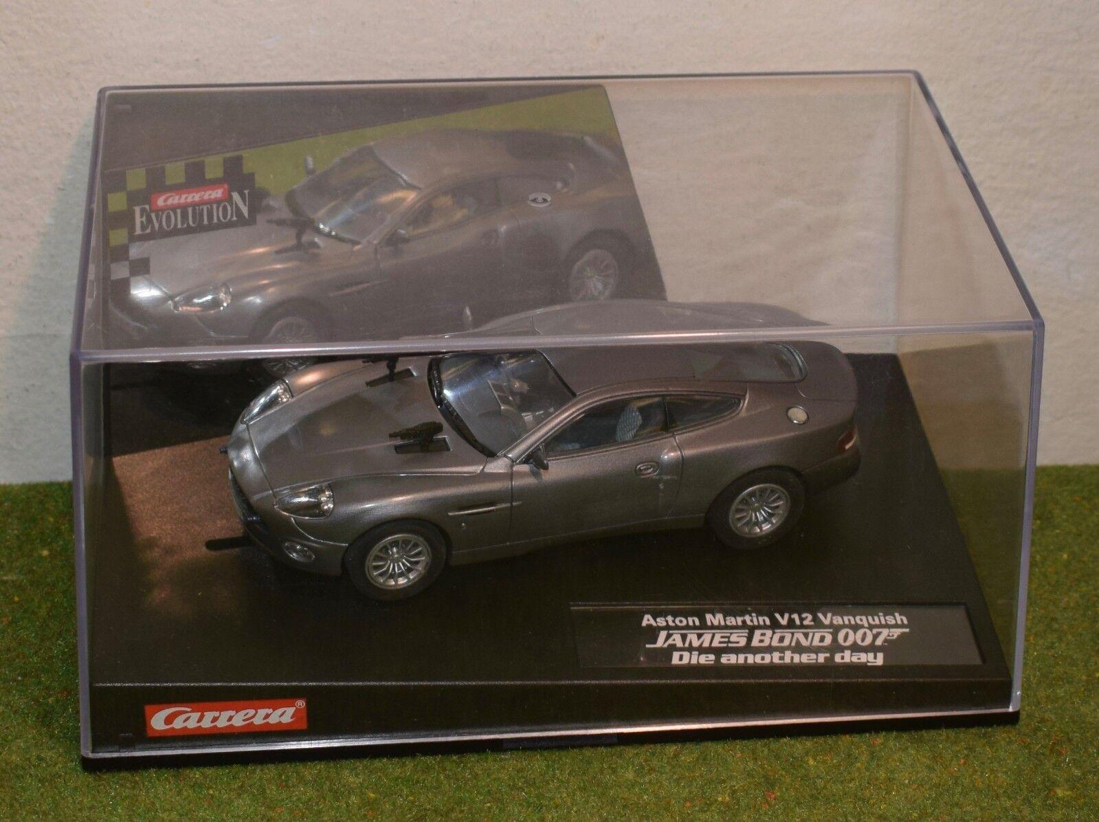 Carrera Evolution 25467 Aston Martin Vanquish James Bond 007 Meurs un autre jour