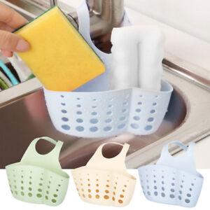Kitchen-Storage-Rack-Sponge-Holder-Sink-Drainer-Bathroom-Shelf-Soap-Organizer