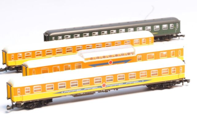 87286 Z-scale  Marklin Apfelpfeil Organization 4 car Passenger Set