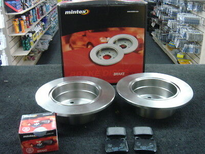 Calibra 2.5 V6 DTM 95-95 Front Rear Brake Discs+Pads