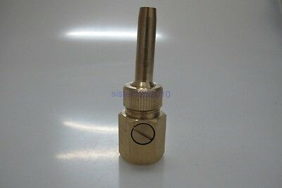 ADJUSTABLE WATER FLOW BRASS UNIVERSAL STRAIGHT-JETTING FOUNTAIN NOZZLE