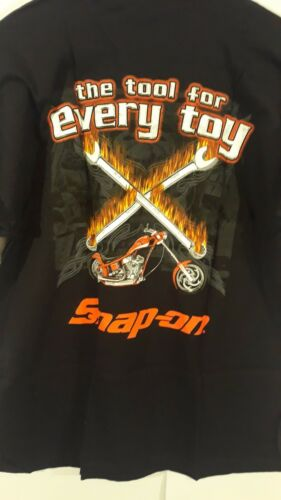 Snap On T-Shirt The Tool For Every Job Size Large  Free Shipping