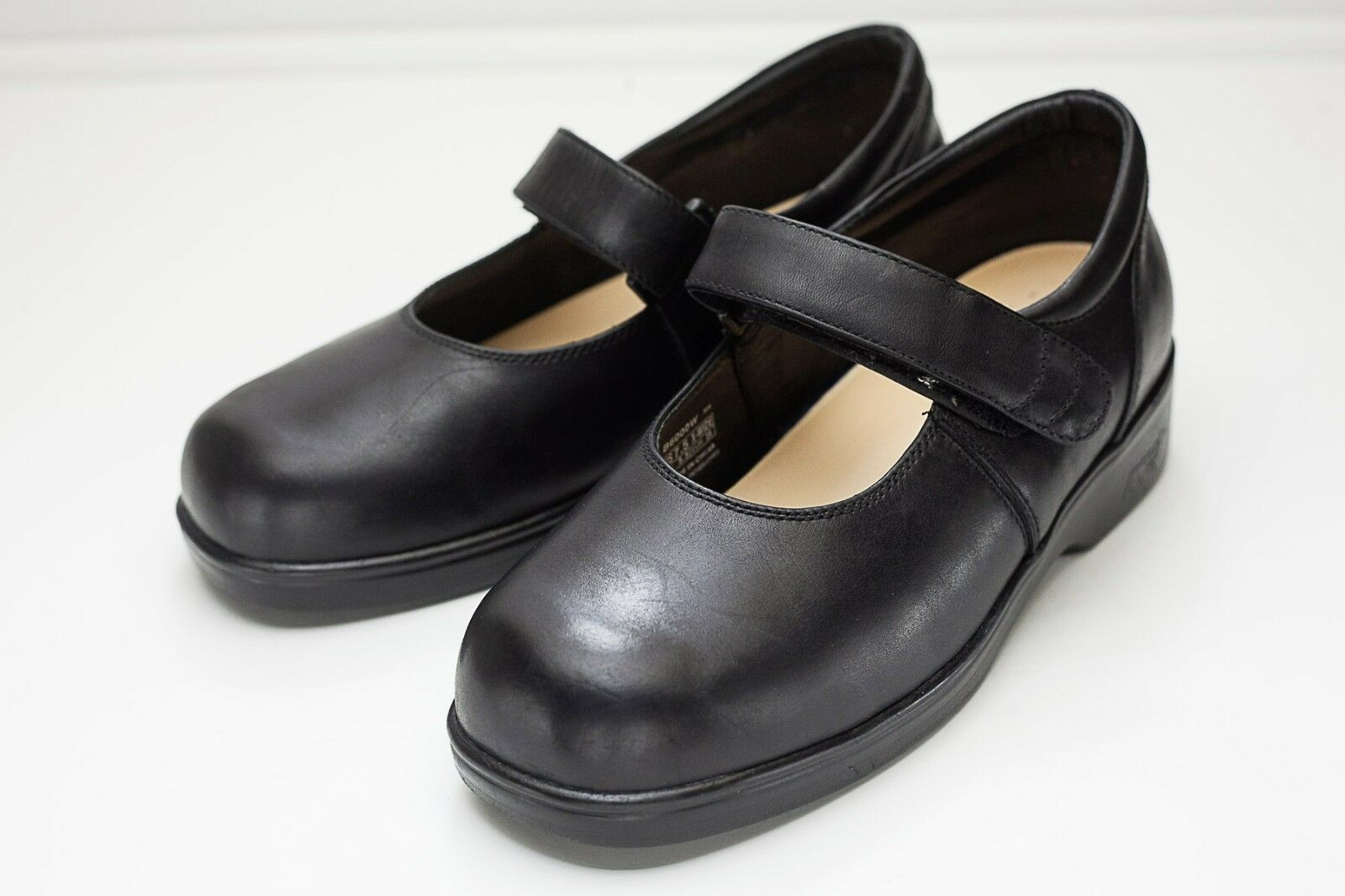 Apex 7.5 Extra Ancho Negro Mary Jane Zapatos Zapatos Zapatos para mujer  diseños exclusivos