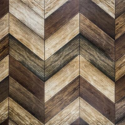 Self Adhesive Brown Wood Wallpaper Waterproof Peel And Stick Contact Paper Vinyl Ebay