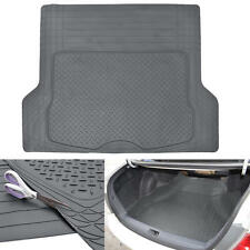 Gray Odor-Free Trimmable Rubber Tough Cargo/Trunk Liner Mat for Cars SUVs Vans