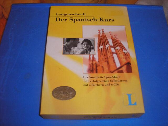 Langenscheidt, Der Spanisch-Kurs - Set mit 3 Büchern und 6 CD