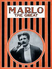 MARLO THE GREAT MAGICIAN VINTAGE ADVERTISING REPRO POSTER ART PRINT 538PYLV