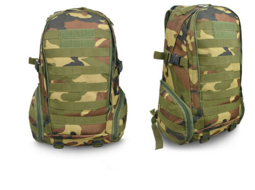 Tactical Military Molle Backpack Camping Hiking Rucksacks Outdoor Travel Bag