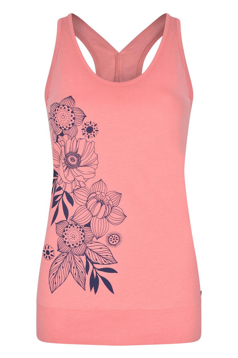 Animal Cinamin Sleeveless T-Shirt in Sugary Pink