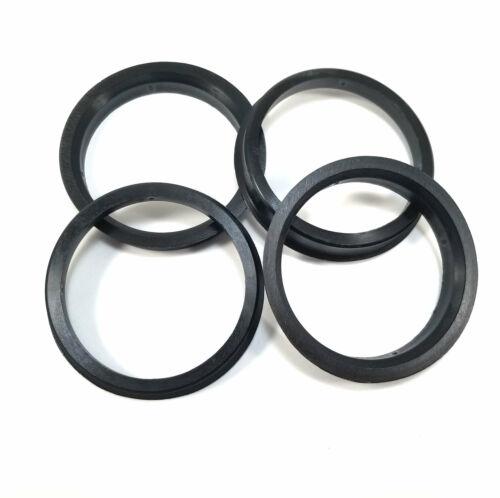4x//4pcs Mr Lugnut Wheel Hub Centric Spacer Rings 78.10mm ID 106mm OD