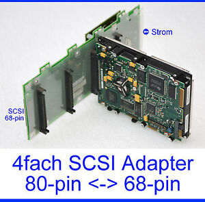 ADAPTER-SCSI-UW-68PIN-gt-4x80PIN-SCSI-SCA-HOTSWAP-BACK-PLANE-68PIN-80PIN-17