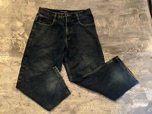 Vintage-Southpole-Mens-Authentic-Collection-Jeans-RN82628-Size-34-Dark-Blue