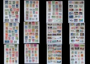 Stamp Collection From Austria Liechtenstein & The United States, Free Shipping