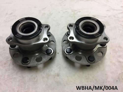 2 x Rear Wheel Bearing /& Hub Assembly Jeep Compass /& Patriot 07-17 WBHA//MK//004A