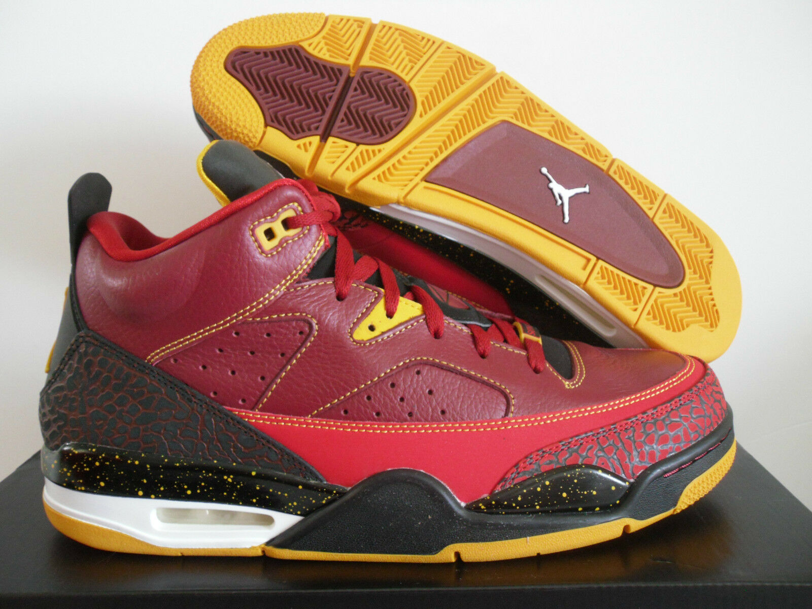 NIKE AIR JORDAN SON OF ATLANTA faible TEAM rouge-GYM rouge ATLANTA OF HAWKS SZ 11.5 [580603-607] dad58b