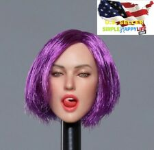 "1//6 Female Head Sculpt GC018C for 12/"" PHICEN Kumik Hot Toys VERYCOOL Figure❶USA❶"