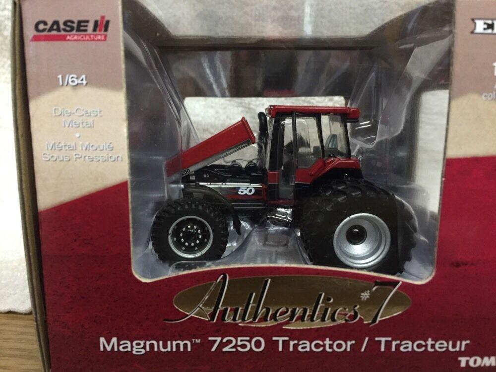 nuevo 1/64 Funda IH 7250 Magnum Tractor, Authentics  7. Mark 50 Chase Unidad